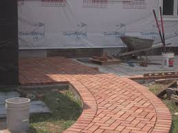 Herringbone Brick Patio Patio Adventures In Remodeling