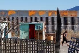 here u0027s what the mexico border wall looks like now pbs newshour