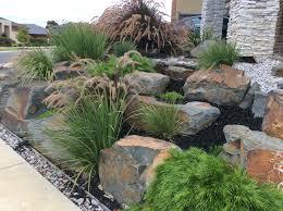 Succulent Rock Garden by Rockery Garden Side Garden Pinterest Rockery Garden Gardens