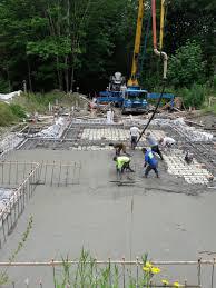 foundation foundation concrete pour