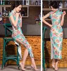 discount velvet chinese dresses cheongsam 2017 velvet chinese