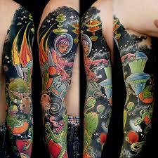 skull tattoo half sleeve ideas http www tattoodesigsnideas com