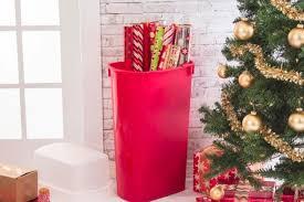 christmas wrapping paper holder 15 diy hacks for easy christmas decor organization tiphero