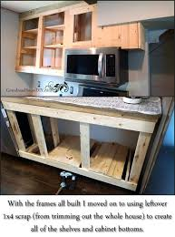 diy kitchen cabinets plans captivating how to build kitchen cabinets 21 diy ideas plans that