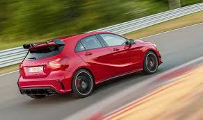 mercedes a class second the price for updated mercedes a class grew mercedes