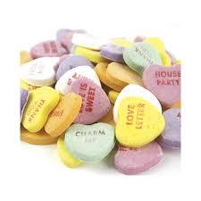 necco hearts necco large conversation hearts candy 2 pounds original