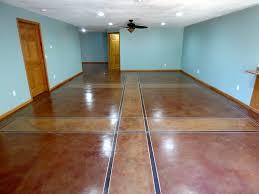 deciding between tile flooring or interior concrete staining