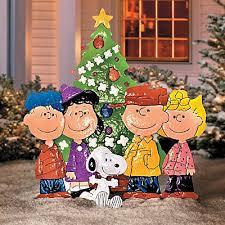 peanuts characters christmas creative peanuts characters christmas yard decorations terrific