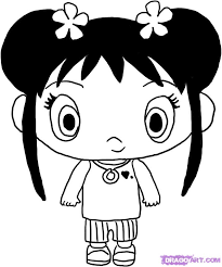 ni hao kai lan coloring pages free kids coloring