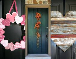 spring door decor ideas front decorating for easter diy fall front