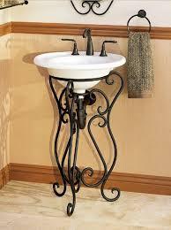 Wrought Iron Bathroom Furniture Wrought Iron Bathroom Vanity Bathrooms Pinterest Wrought