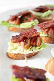 blt bruschetta the speckled palate