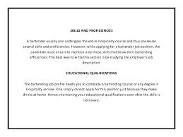 Mixologist Resume Sample by Bartending Resume Template Entry Level Bartender Resume Bartender