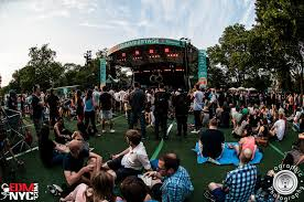summerstage in central park with basement jaxx edmnyc