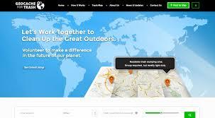 Geocache Map Geocache For Trash Marksman Media
