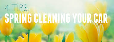 4 tips for spring cleaning your car