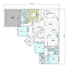 4 Bedroom Home Floor Plans Sumptuous 5 4 Bedroom House Plans Darwin Tropical House Designs