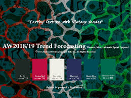 aw2017 2018 trend forecasting on pantone canvas gallery autumn winter 2018 2019 trend forecasting is a trend color guide