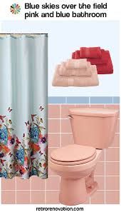 Vintage Bathroom Tile Ideas Colors 13 Ideas To Decorate A Pink And Blue Tile Bathroom Vintage Pink