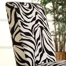 Zebra Dining Chairs Oxford Creek Zebra Print Dining Chairs Set Of 2 Multi Home