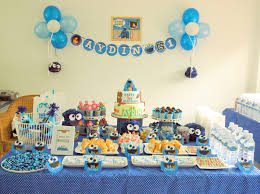 pinterest party or candy tables cakes cookie monster 1st