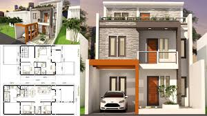 Home Design 3d Examples by Sam Architect Home Design 3d Plot Size 7x17 With 5 Bedrooms