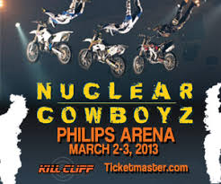 freestyle motocross nuclear cowboyz sojourner marable grimmett nuclear cowboyz are coming to atlanta