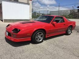 1989 chevy camaro iroc 1989 chevrolet iroc z28 camaro l98 5 7l for sale