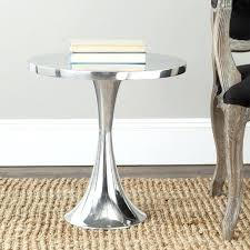round silver accent table silver accent table silver accent table modern pedestal search