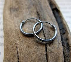 hoop earrings for men small black silver hoop earrings for men men s earrings hoops