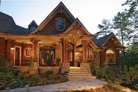 craftsman house design home in the woods hwbdo14907 craftsman from builderhouseplans