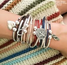 wrap bracelet with charms images 45 best charm bracelets styling images charm jpg