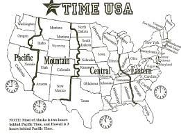Alabama Time Zone Map by Geography Blog Us Maps Time Zones