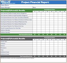 Expenses Report Sample Annual Financial Report Template Masir