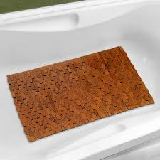 choose bamboo bath mat comfortable u2014 the homy design