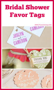 bridal shower favor tags bridal shower favor tags mccoy blaske