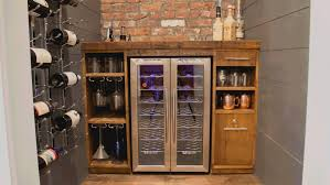 Under Cabinet Wine Racks Kitchen Cool Vinidor Built Under Cabinet Wine Cooler 2 Zones