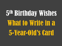 birthday thanksgiving message 5th birthday messages wishes and poems holidappy