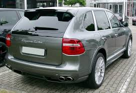 porsche cayenne 2008 turbo file porsche cayenne turbo rear 20080527 jpg wikimedia commons