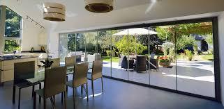 Glass Bifold Doors Exterior Frameless Sliding Glass Doors Exterior Home Decor