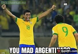 Argentina Memes - brazil 3 0 argentina soccer memes goal91
