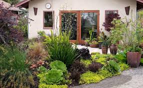 Ideas Landscaping Front Yard - succulent front yard ideas landscape mediterranean with curb