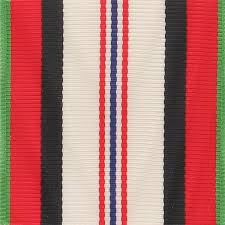 afghanistan ribbon afghanistan caign ribbon yardage vanguard