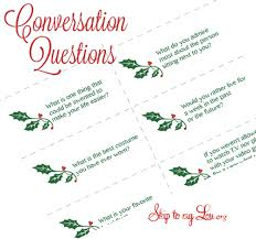 conversation questions skip to my lou
