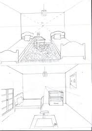 dessin chambre en perspective charming dessin d une chambre en perspective 0 dessin de