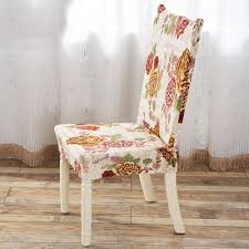 Stretch Dining Room Chair Covers Yazi 4pcs Peony Flower Super Fit Stretch Dining Room Chair Cover