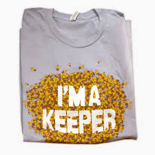 i u0027m a keeper t shirt from bee thinking bee pest control