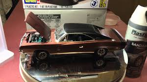 how to build a dodge charger 68 dodge charger r t by revell build update