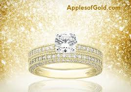 yellow gold bridal sets yellow gold bridal ring sets with a touch of tradition
