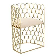 Ivory Accent Chair Justinian Accent Chair Trellis Home